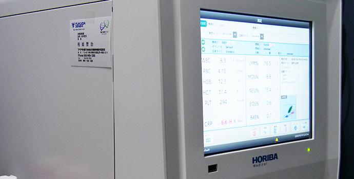 自動血球計数CRP測定装置